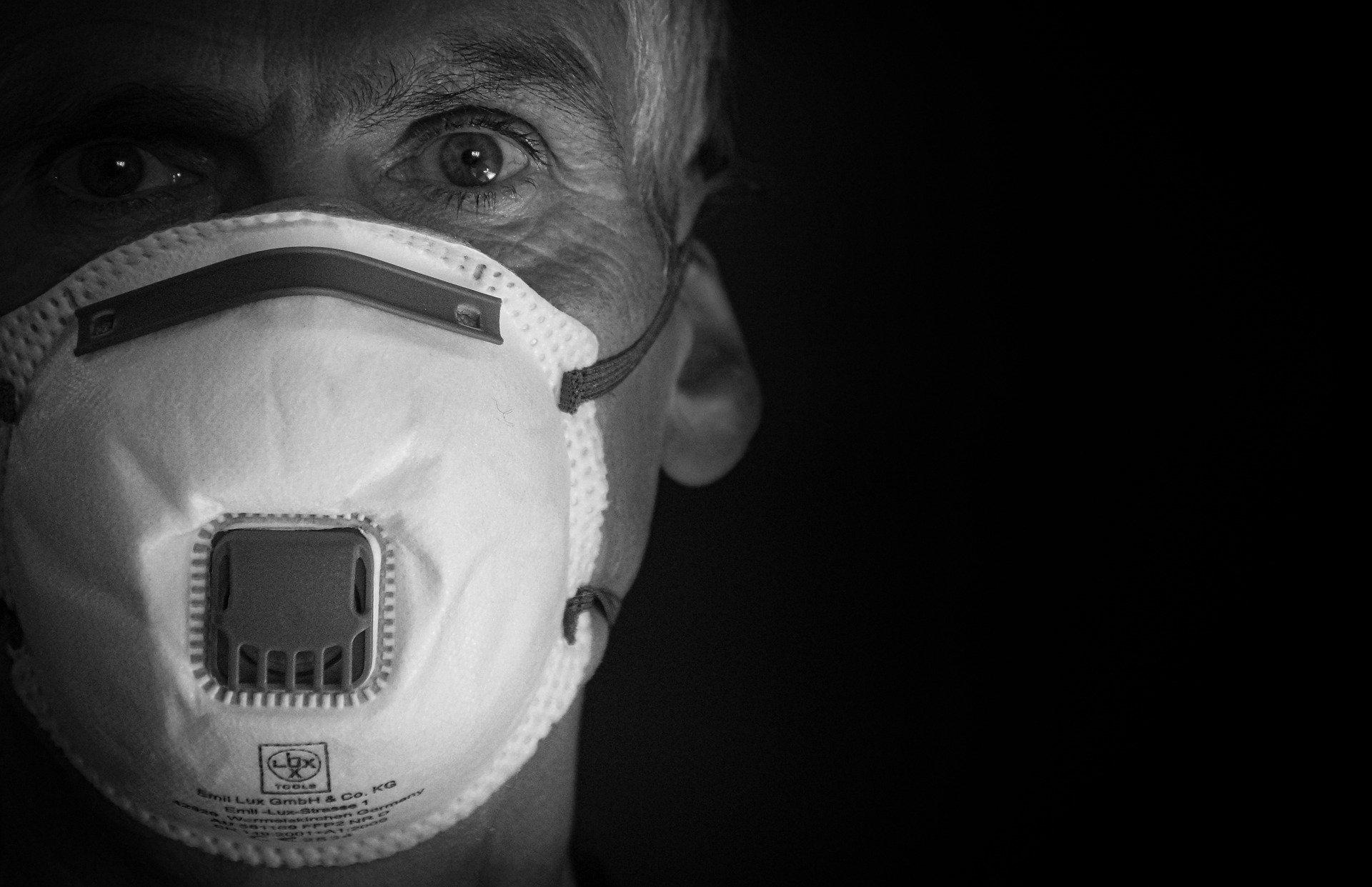 maschera corona virus